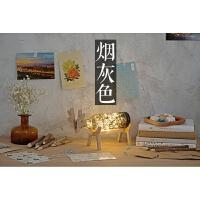 创意麋鹿灯 星空卧室台灯 简约卡通装饰现代led夜灯