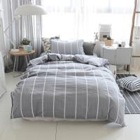 床单被套被罩枕套床上三件套床品学生宿舍单人女生1.2米定制 1.2m(4英尺)床