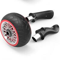 回弹健腹轮腹肌轮巨轮静音健身器材家用女减肚子滚轮滑轮男士训练 带轮毂