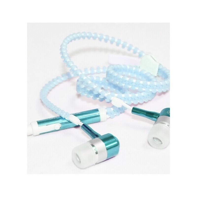 发光夜光荧光手机耳机重低音手机雷思尼MP3手机新款入耳式线控  标配 null