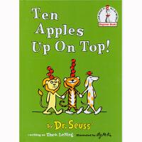 【99选5】美国进口 Dr. Seuss 苏斯博士代表作 Ten Apples Up On Top! 头顶十个苹果 【精装】#