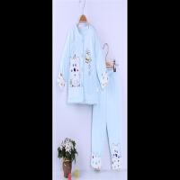 童祥 冬季新款婴儿棉衣套装加厚纯棉新生儿男女宝宝袄保暖外出衣服