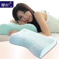 零听枕太空记忆睡枕头 月牙枕芯护颈 单人女士睡眠枕 粒子枕