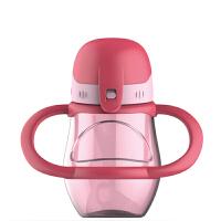 宝宝吸管杯水杯儿童亲子杯带手柄斜跨防漏学生杯儿童吸管杯宝宝学饮杯婴儿喝水杯子带吸管手柄f7f