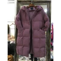 H7棉衣女中长款韩版新款潮宽松冬装学生棉袄加厚外套0.85