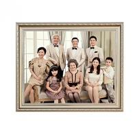 照片制作木质相框 婚纱照放大全家福制作相框挂墙欧式16 20 24 30 洗照片加冲印
