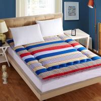 晚歌床垫磨毛榻榻米保暖床褥子 学生宿舍单双人床可折叠