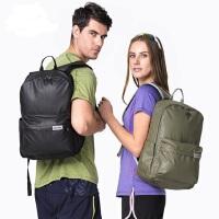 23L双肩背包皮膜休闲包男女户外运动旅行电脑背包 新款男女双肩包皮膜防水休闲背包