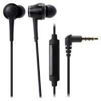 铁三角(Audio-technica)ATH-CKR70IS 线控带麦入耳式HIFI耳机 黑色