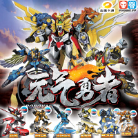 元气勇者星魂2百变机兽烈风机器人超变形合体金刚全套装儿童玩具