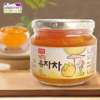 【满99减50元】韩国进口韩福10.2原味蜂蜜柚子茶580g冲饮饮料