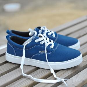 回力男款帆布鞋夏季系带低帮透气休闲男鞋子平底韩版时尚运动板鞋
