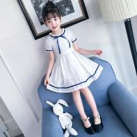 女童夏季休闲连衣裙新款韩版儿童装裙子女大童时尚洋气公主裤