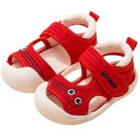 宝宝凉鞋0-1岁2男童新款时尚儿童软底夏季小孩防滑童鞋小女孩鞋子