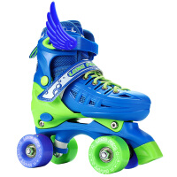 溜冰鞋旱冰鞋四轮滑冰鞋男女轮滑鞋全套装3-5-4-6-10岁儿童双排轮