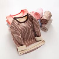 儿童保暖内衣套装中大童男童女童秋冬季家居服宝宝睡衣