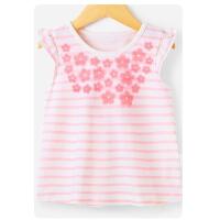 女童打底衫 短袖1一3岁小童夏装婴儿上衣儿童夏季5-6女宝宝t恤夏
