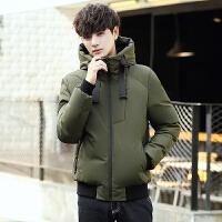 冬季新款男士加厚短款羽绒服男韩版修身款学生防寒服冬装外套