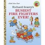 【英文原版】Richard Scarry's Busiest Firefighters Ever (Little Go