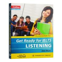 基础雅思听力英语考试辅导书 英文版原版 collins Get Ready for IELTS Listening 柯