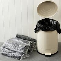 【满减】欧润哲 大号40升加厚黑色手提垃圾袋 背心家用垃圾收纳袋套装