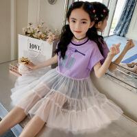 童装女童连衣裙夏季裙子中大童长裙小女孩公主裙