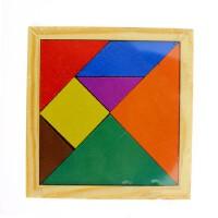 儿童益智玩具木质七巧板拼图 幼儿园智力