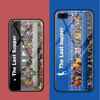 潮牌iPhone 7手机壳玻璃苹果8plus套七乔丹六6s篮球NBA硬8p八
