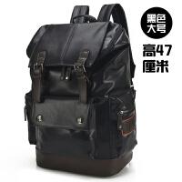 男士双肩包男包韩版休闲旅行背包书包大中号