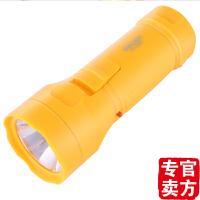 得力deli 3661充电式LED手电筒 4灯头强光远射夜行户外 2档可调