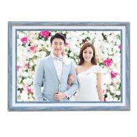 24寸影楼婚纱照相框创意组合挂墙欧式结婚洗照片加放大冲印相片墙 60寸75X 150cm客厅