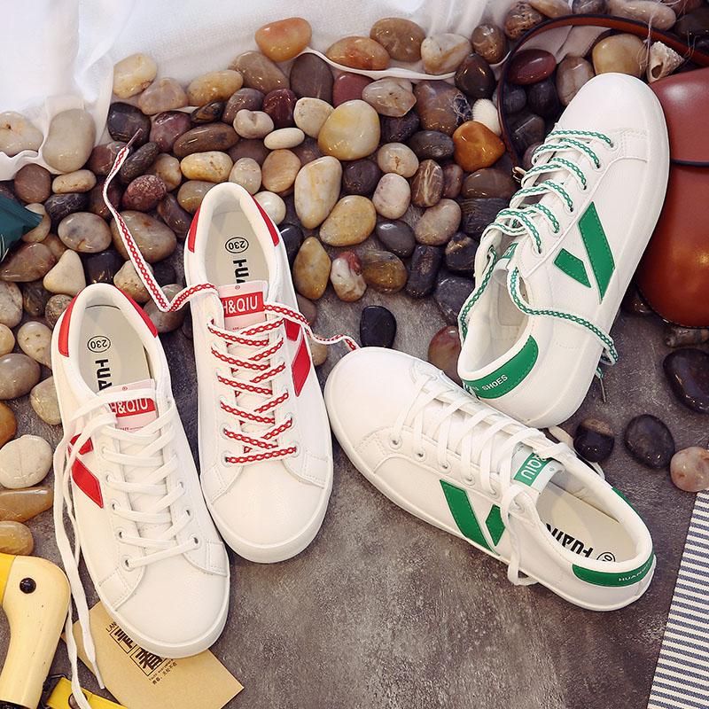 环球 小白鞋女2017新款百搭韩版休闲鞋学生板鞋平底运动鞋