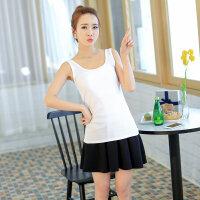 白色吊带背心女小短款莫代尔外穿韩版夏百搭上衣打底学生内搭性感