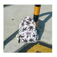 双肩包森系日韩版变色枫叶树叶书包超火男女背包高中学生书包