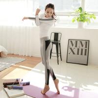 健身服女运动套装女秋冬季专业跑步健身房瑜珈服喻咖服长袖紧身裤