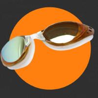 清晰电镀平光泳镜男女高清防水防雾近视游泳装备儿童游泳眼睛