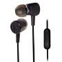 铁三角(Audio-technica)ATH-CKL220IS 入耳式线控带麦手机电脑耳机 黑色
