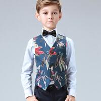 儿童礼服套装幼儿园朗诵合唱团男孩模特走秀演出服表演春秋季