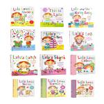 英文原版绘本3 6岁 Lulus too 大全套13册 我爱露露系列翻翻操作书 纸板4本 精装5本 平装4本