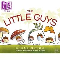 【中商原版】Vera Brosgol:The Little Guys 小人物 英文原版 进口图书 睡前读物 亲子绘本 4