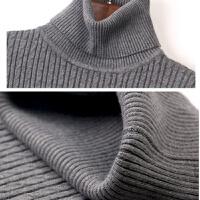 秋冬季加绒毛衣女套头加厚短款学生修身保暖长袖针织半高领打底衫