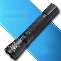 多功能强光防爆手电筒可充电远射防水LED工作巡检灯迷你