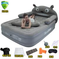 充气龙猫床卡通气垫床家用单双人床垫懒人沙发榻榻米可折叠创意床SN1364 充气床