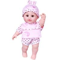 儿童女孩玩具娃娃婴儿全软胶宝宝会说话的洋娃娃可洗澡智能