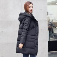 反季羽绒服女中长款加厚新款韩版潮2018冬季羽绒服