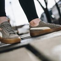 【网易考拉】Puma Suede Platform Snake玫红厚底松糕鞋蕾哈娜休闲鞋363906-01