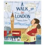 A Walk in London漫步伦敦 英文原版儿童绘本