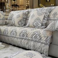 沙发垫冬季欧式四季通用巾罩布艺皮沙发坐垫全盖沙发套全包�f能套