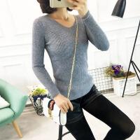 2018春装新款女装春秋季中长款时尚毛衣羊毛衫针织衫女40 Z