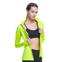 瑜伽服外套女士运动外套 女士时尚休闲运动服运动上衣